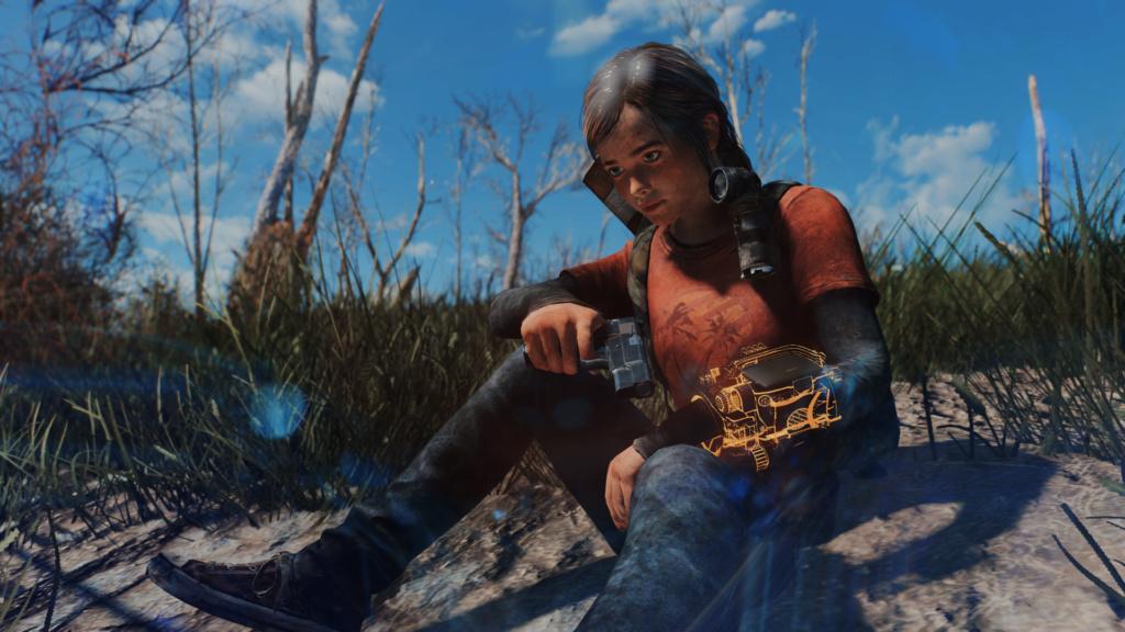 TLOU Ellie Mod Screenshots [Fallout 4] Fallou22
