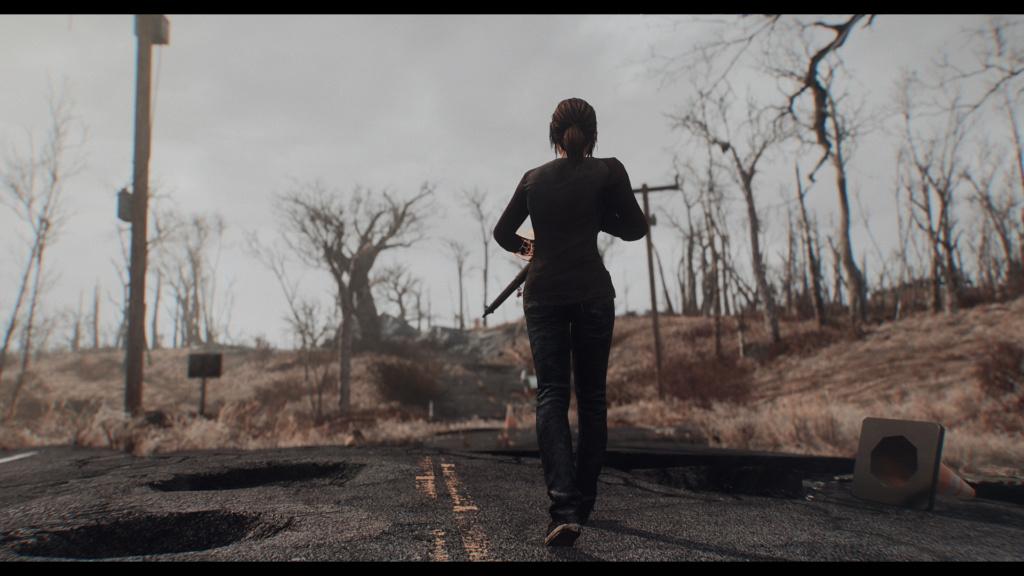 TLOU Ellie Mod Screenshots [Fallout 4] Fallou24