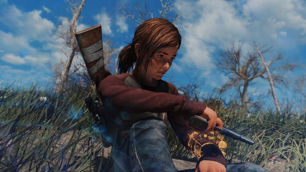 TLOU Ellie Mod Screenshots [Fallout 4] Fallou25