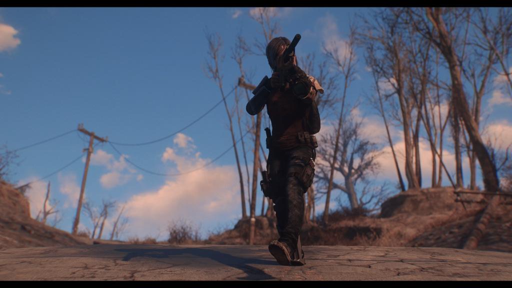 TLOU Ellie Mod Screenshots [Fallout 4] Fallou26