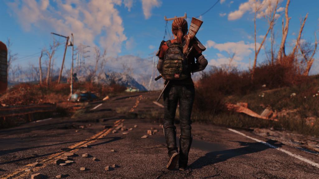 TLOU Ellie Mod Screenshots [Fallout 4] Fallou27