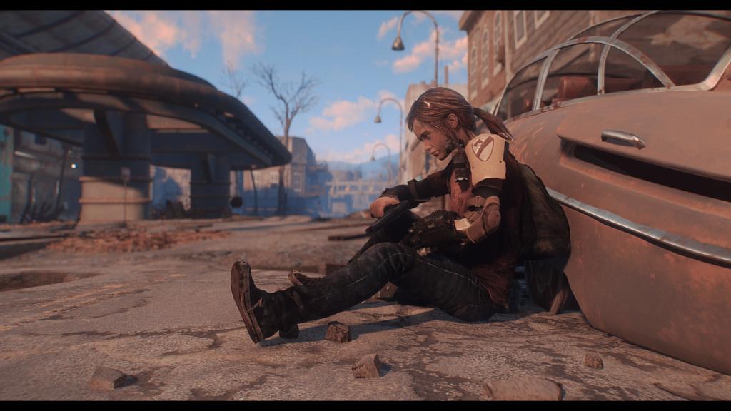 TLOU Ellie Mod Screenshots [Fallout 4] Fallou28