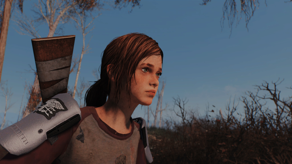TLOU Ellie Mod Screenshots [Fallout 4] Fallou30