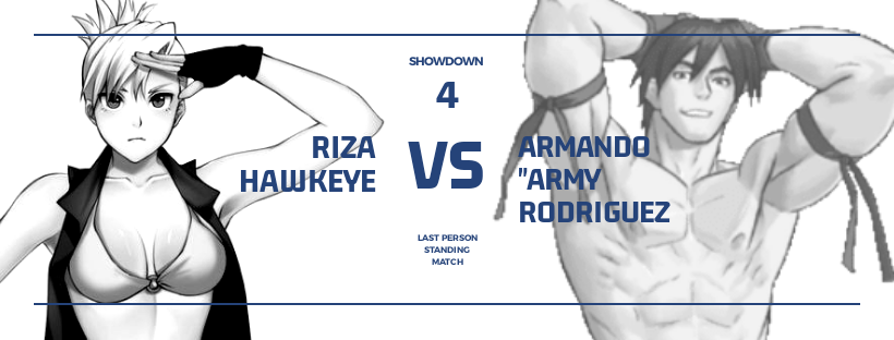 Showdown '19: Riza Hawkeye vs Army Rodriguez Best of 5 Match Series Finale: Last Person Standing Match File_m11