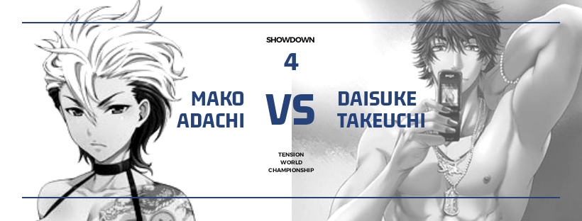 "Showdown '19: Mako ""The Shark"" Adachi (C) vs Daisuke Takeuchi: Tension World Title Match File_m17"