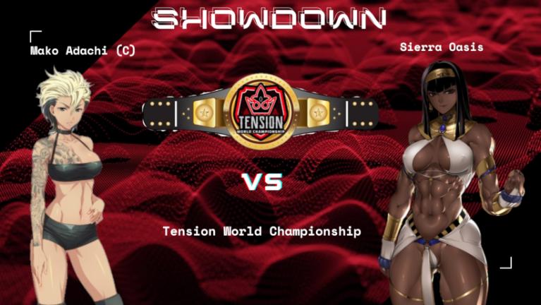 Showdown VI: World Title Match: Mako The Shark (C) vs Sierra Oasis Mako_v10