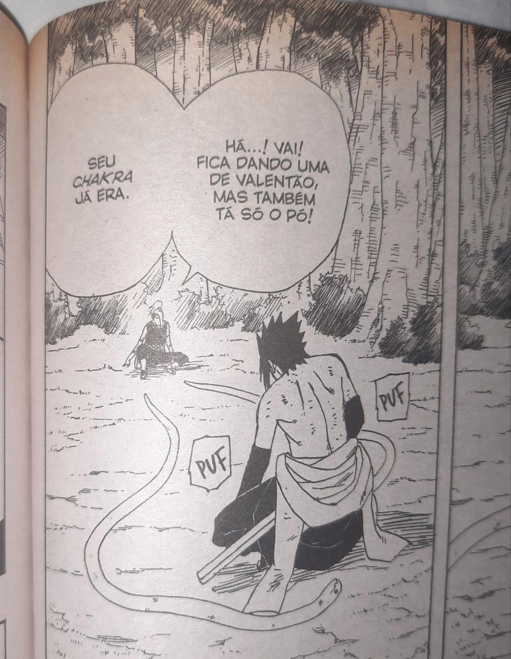 Roteiro em Sasuke vs. Deidara 20200910