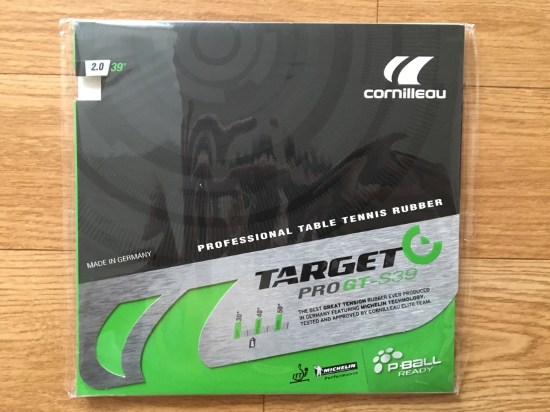 Cornilleau Target Pro GT-S39 2.0mm noir neuf sous-blister Img_8510