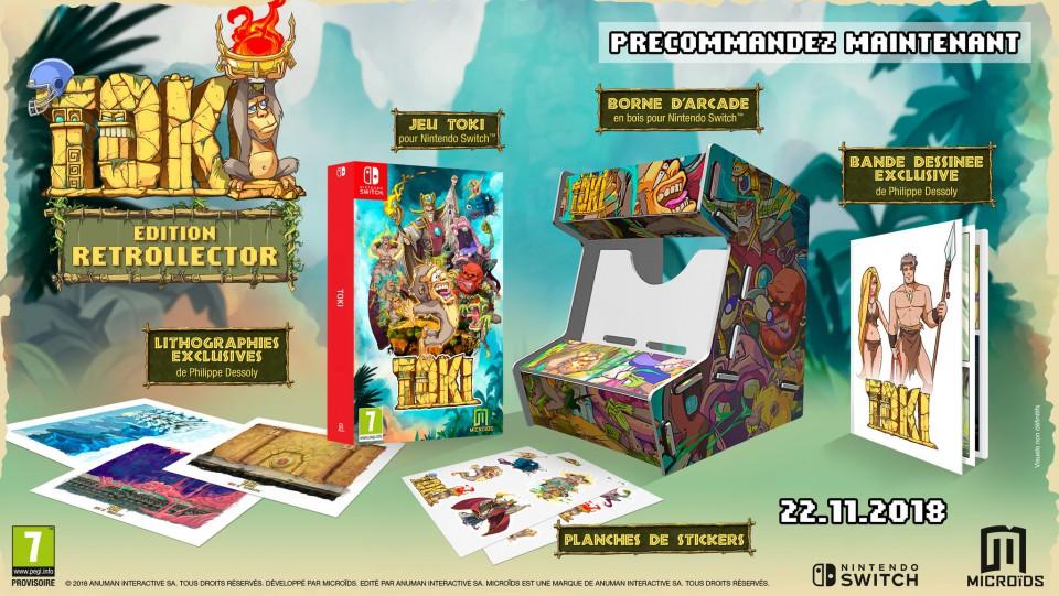 Toki remaster sort enfin ... 10 ans plus tard ! Toki-e11