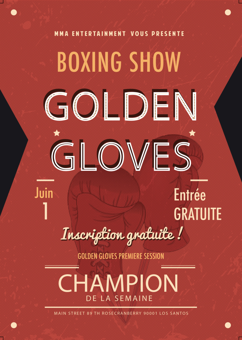 DEVENEZ LE CHAMPION DE LA SEMAINE (GOLDEN GLOVES BOXING) Golden11