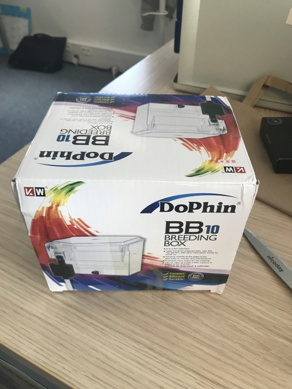 installation de la breeding box dolphin sur mon 20L du boulot Img_0111