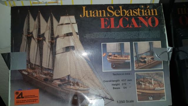 Die Juan Sebastian Elcano in 1/250 von der Firma Artesania Latina von 1988?? 20180822