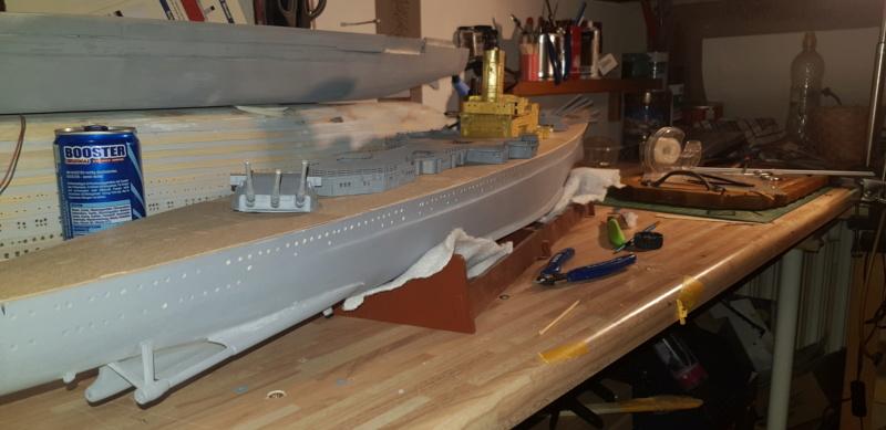Die Scharnhorst von Hachette in 1/200 mit Licht gebaut von Kai1404 - Seite 2 20190415