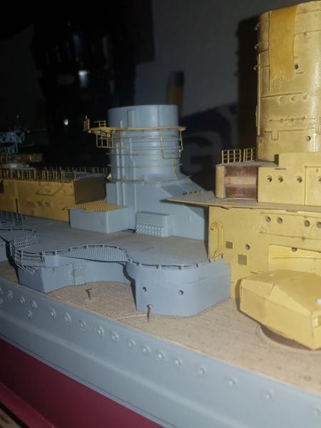 Die Scharnhorst von Hachette in 1/200 mit Licht gebaut von Kai1404 - Seite 2 20200112