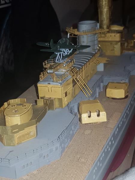 Die Scharnhorst von Hachette in 1/200 mit Licht gebaut von Kai1404 - Seite 2 20200113