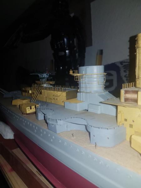 Die Scharnhorst von Hachette in 1/200 mit Licht gebaut von Kai1404 - Seite 2 20200114