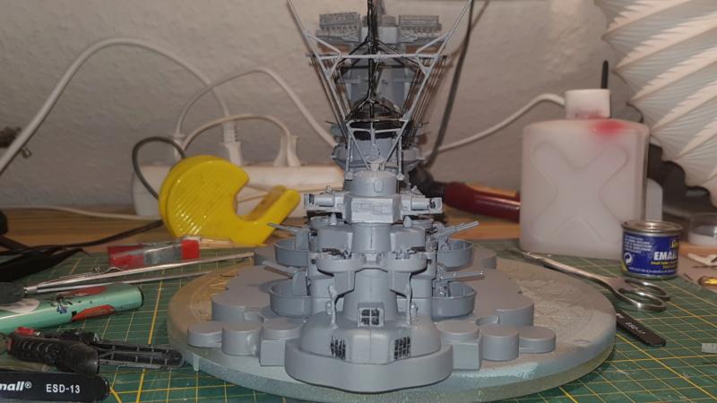 Die Yamato von De Agostini in 1/250  20200411