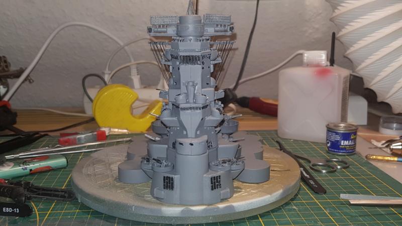 Die Yamato von De Agostini in 1/250  20200412