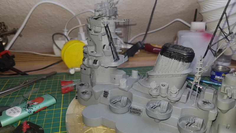 Die Yamato von De Agostini in 1/250  20200414
