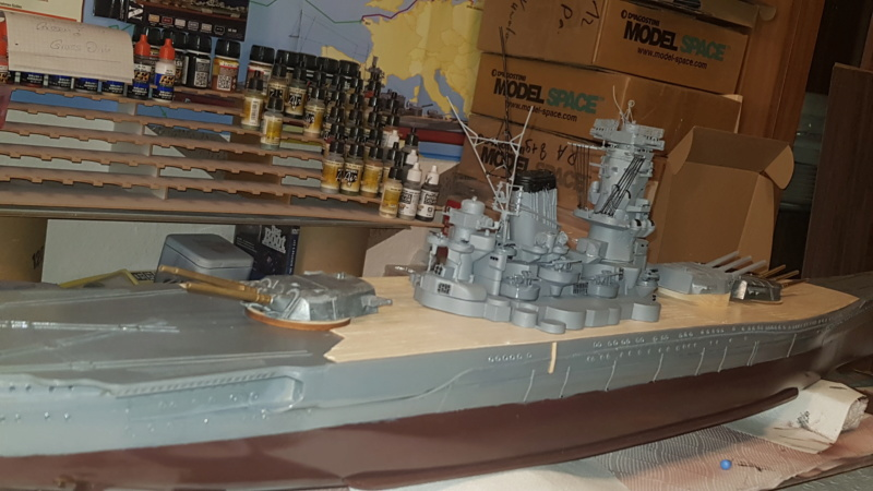 Die Yamato von De Agostini in 1/250  20200418