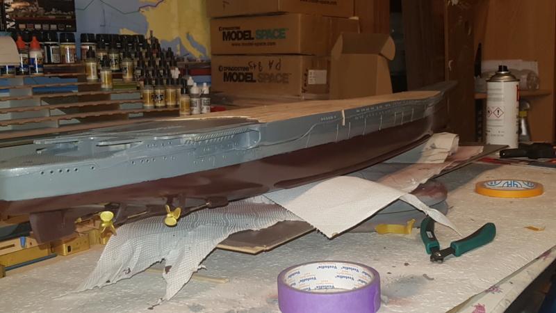 Die Yamato von De Agostini in 1/250  20200421