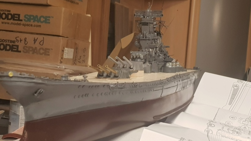 Die Yamato von De Agostini in 1/250  20200425