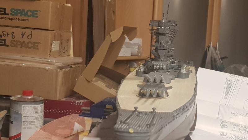 Die Yamato von De Agostini in 1/250  20200426