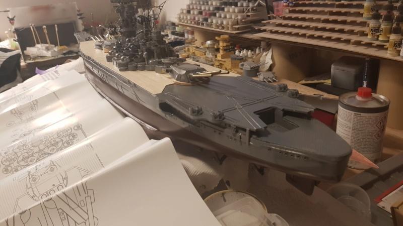 Die Yamato von De Agostini in 1/250  20200428