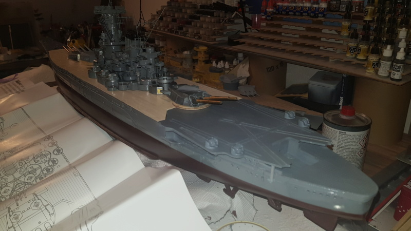 Die Yamato von De Agostini in 1/250  20200429
