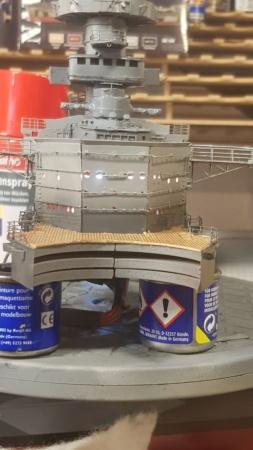 Die Scharnhorst von Hachette in 1/200 mit Licht gebaut von Kai1404 - Seite 3 20200733