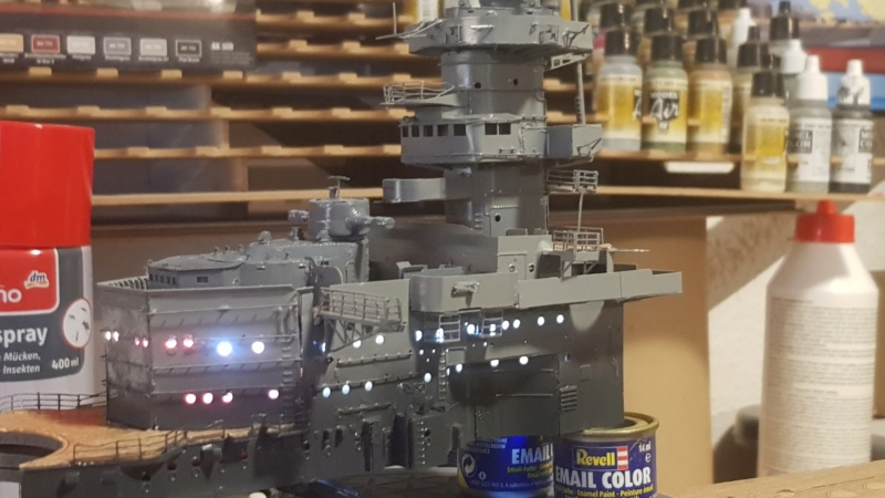 Die Scharnhorst von Hachette in 1/200 mit Licht gebaut von Kai1404 - Seite 3 20200734