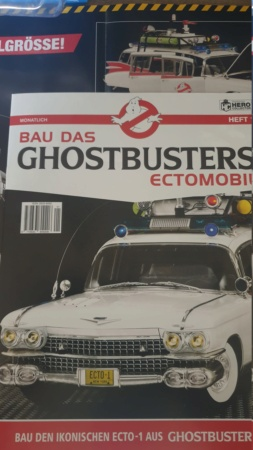 1:8 Replik von Ecto-1, dem Cadillac aus Ghostbuster I-II  20210127