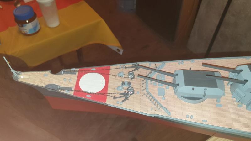 Multifunktions Modell von Hachette: Die Bismarck in 1/200  20210316