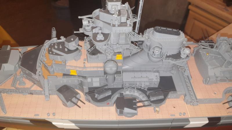 Multifunktions Modell von Hachette: Die Bismarck in 1/200  20210317