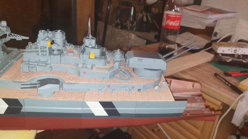 Multifunktions Modell von Hachette: Die Bismarck in 1/200  20210319
