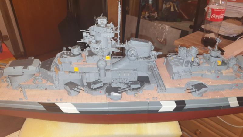 Multifunktions Modell von Hachette: Die Bismarck in 1/200  20210320