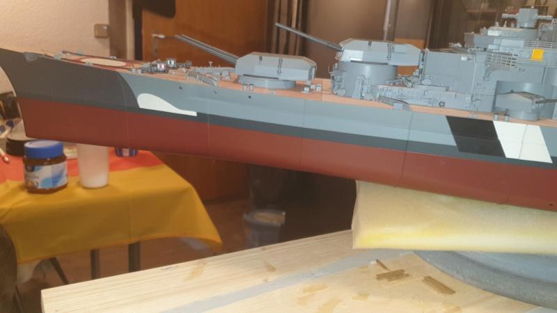 Multifunktions Modell von Hachette: Die Bismarck in 1/200  20210324