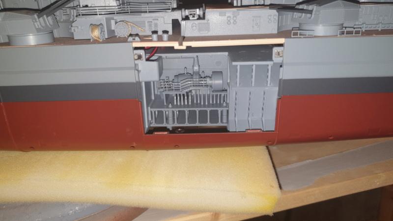 Multifunktions Modell von Hachette: Die Bismarck in 1/200  20210325