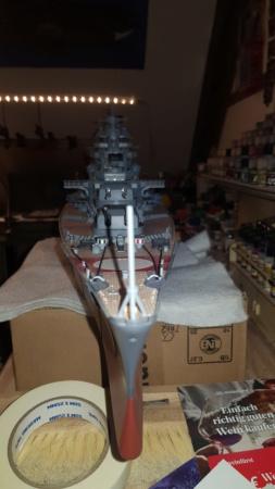 Multifunktions Modell von Hachette: Die Bismarck in 1/200  Baupha26