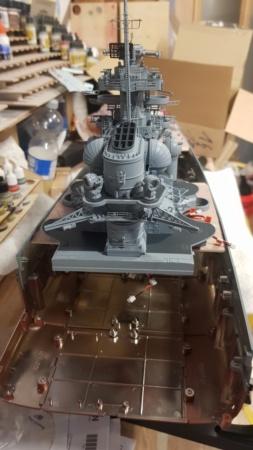 Multifunktions Modell von Hachette: Die Bismarck in 1/200  Baupha28