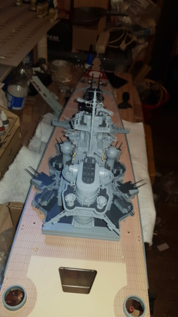 Multifunktions Modell von Hachette: Die Bismarck in 1/200  Baupha30