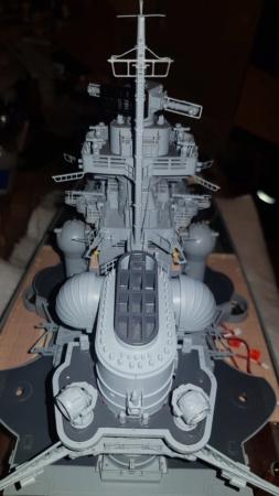 Multifunktions Modell von Hachette: Die Bismarck in 1/200  Baupha31