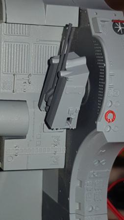 Multifunktions Modell von Hachette: Die Bismarck in 1/200  Baupha35