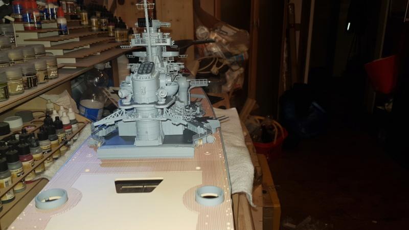 Multifunktions Modell von Hachette: Die Bismarck in 1/200  Baupha46