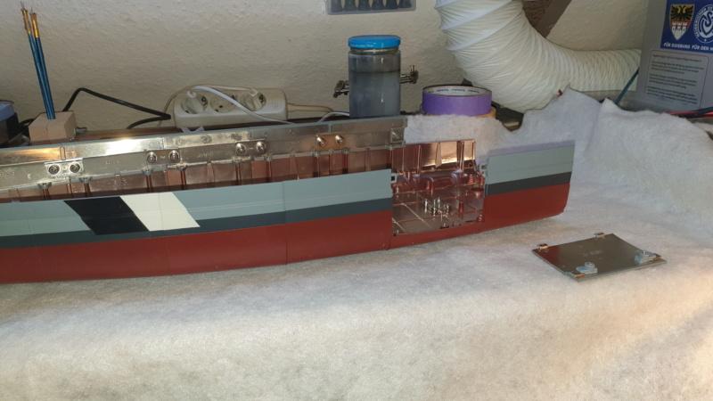 Multifunktions Modell von Hachette: Die Bismarck in 1/200  Baupha48