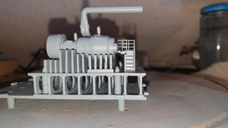 Multifunktions Modell von Hachette: Die Bismarck in 1/200  Baupha57