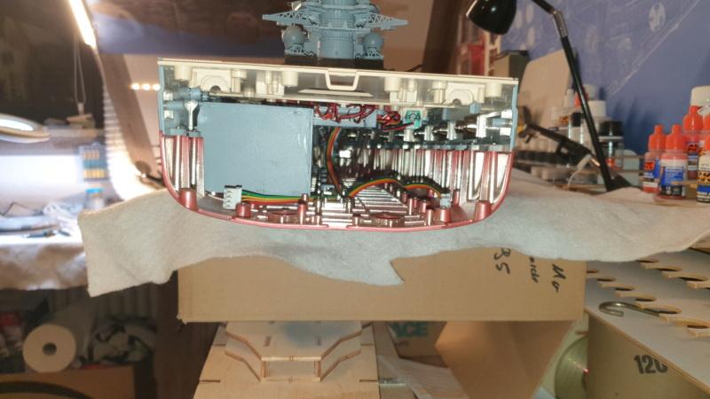 Multifunktions Modell von Hachette: Die Bismarck in 1/200  Baupha60
