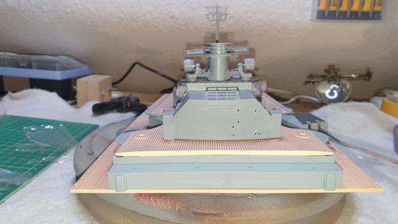 Multifunktions Modell von Hachette: Die Bismarck in 1/200  Baupha63
