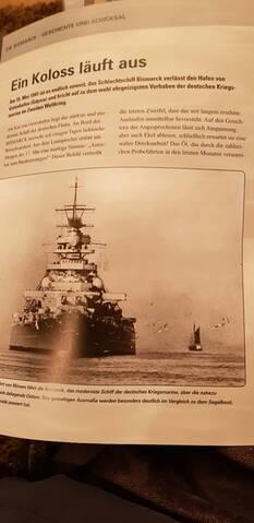 Hachette Bismarck Die Legende ist zurück Ausgabe 78 Teile Admiralsbrücke