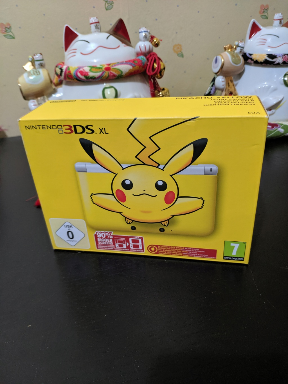 Vend 3ds pikachu neuf Img_2029